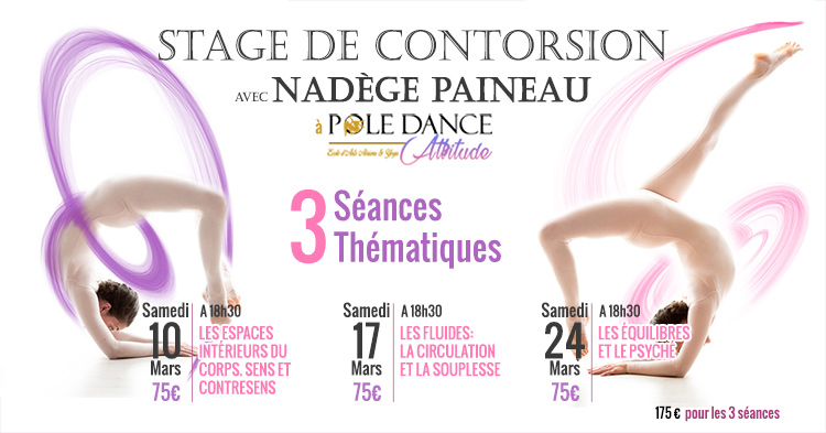 stage de contorsion avec nad ge paineau pole dance attitude paris. Black Bedroom Furniture Sets. Home Design Ideas
